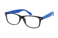 Megabrille Modell CP169B Brille in schwarz/blau