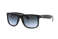 Ray-Ban Justin RB 4165 601/8G Sonnenbrille in rubber black