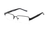 Megabrille Modell 229 Brille in schwarz