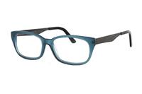 Megabrille Modell A112A Brille in blau
