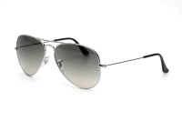 Ray-Ban Aviator Large Metal RB 3025 004/78 Sonnenbrille in gunmetal