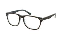 Megabrille Modell A68E Brille in braun/grün