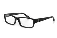 Megabrille Modell A179A Brille in schwarz