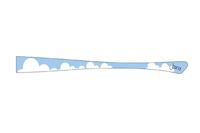 eye:max Wechselbügel 5652 04 Motiv blaue Wolken   Joana Design