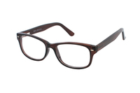 Megabrille Modell CP182B Brille in rot/braun