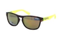 Superdry SDS Rockstar 152 Sonnenbrille in havanna/neon gelb
