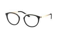 Humphrey's 581041 10 Brille in schwarz/gold