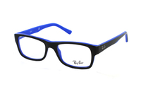 Ray-Ban RX5268 5179 Brille in schwarz/blau